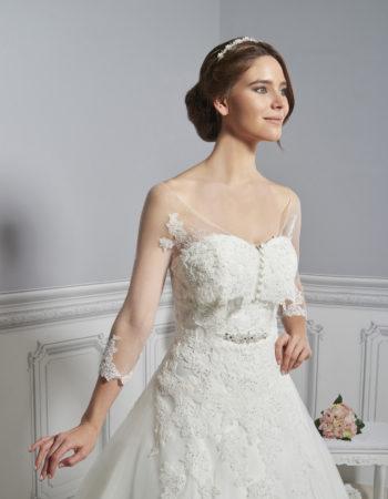 Robes de mariées - Maison Lecoq - robe n°906_A