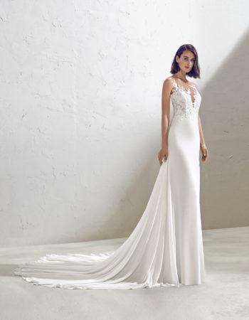 Robes de mariées - Maison Lecoq - robe n°957_A