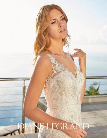 Robes de mariées - Maison Lecoq - robe n°960_A