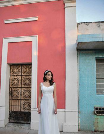 Robes de mariées - Maison Lecoq - robe N°01 BM105 695 €