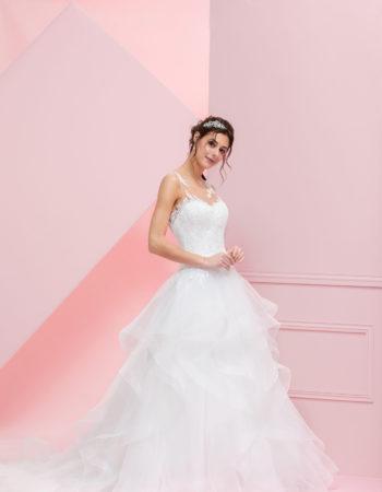 Robes de mariées - Maison Lecoq - robe N°941 TEMPETE 945 €