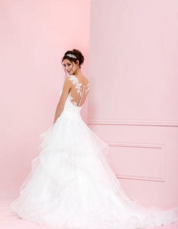 Robes de mariées - Maison Lecoq - robe N°941a TEMPETE 945 €