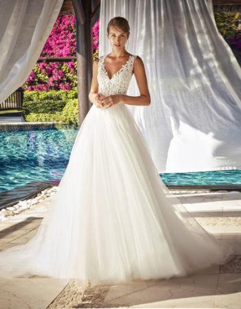 Robes de mariées - Maison Lecoq - robe N°964 FRANIA 1345 €