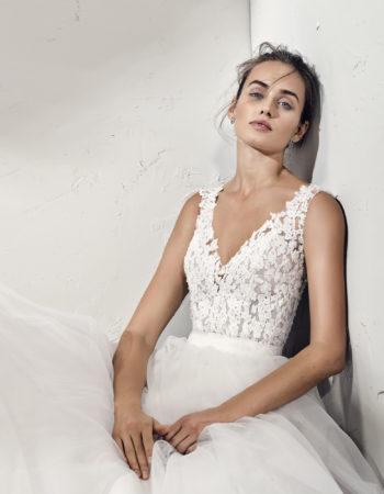 Robes de mariées - Maison Lecoq - robe N°964b FRANIA 1345 €