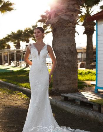 Robes de mariées - Maison Lecoq - robe N°021 Bernarda 1150 €