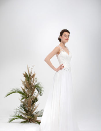 Robes de mariées - Maison Lecoq - robe N°027 SACHA 685 €