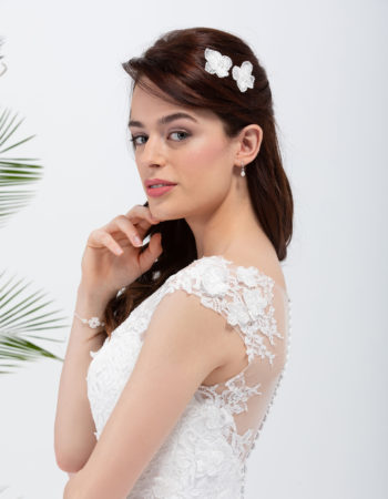 Robes de mariées - Maison Lecoq - robe N°028b SAVANNAH 1025 €