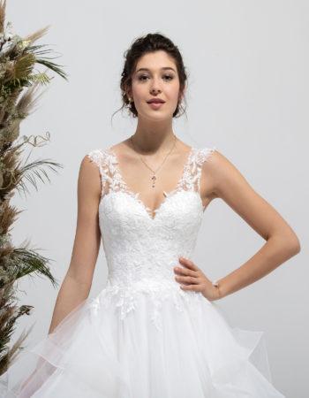 Robes de mariées - Maison Lecoq - robe N°031a SWING 985 €
