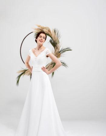 Robes de mariées - Maison Lecoq - robe N°032 SOLINE 675 €