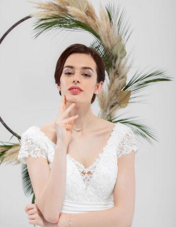 Robes de mariées - Maison Lecoq - robe N°032b SOLINE 675 €
