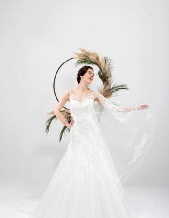 Robes de mariées - Maison Lecoq - robe N°035 SICILE 875 €
