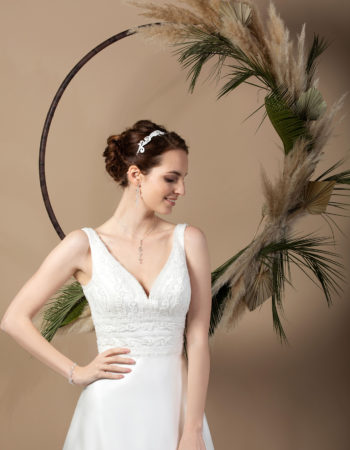 Robes de mariées - Maison Lecoq - robe N°037b SIXTINE 535 €