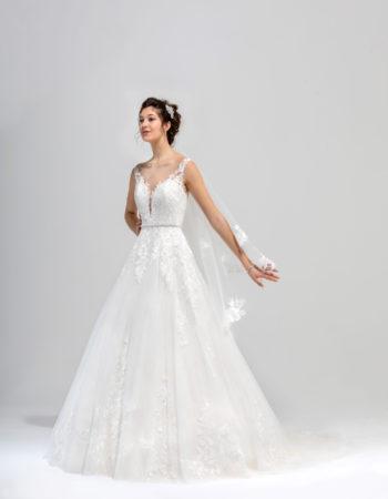 Robes de mariées - Maison Lecoq - robe N°038 SYMPHONIE 1435 €