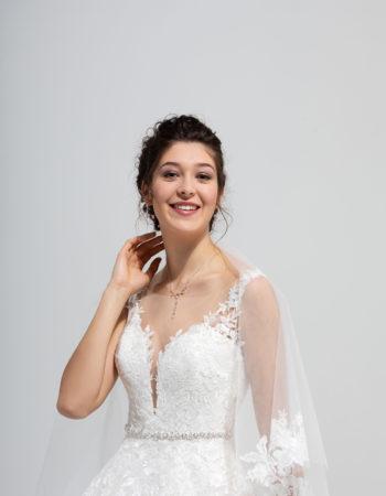 Robes de mariées - Maison Lecoq - robe N°038b SYMPHONIE 1435 €