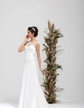 Robes de mariées - Maison Lecoq - robe N°042 SAFRAN 795 €