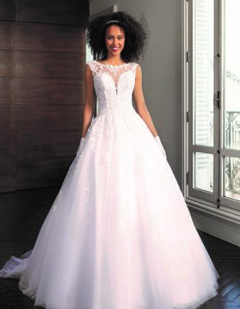 Robes de mariées - Maison Lecoq - robe N°047 Sissy 1035 €