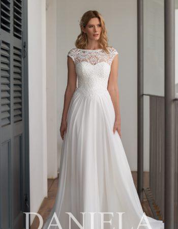 Robes de mariées - Maison Lecoq - robe N°054 Gaudenza 695 €