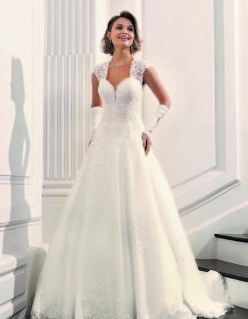 Robes de mariées - Maison Lecoq - robe N°22 Bajika 995 €
