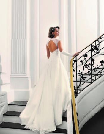 Robes de mariées - Maison Lecoq - robe N°22a Bajika 995 €