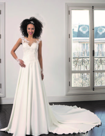 Robes de mariées - Maison Lecoq - robe N°23 Bégina 795 €