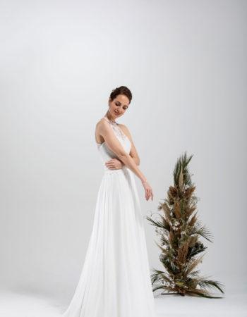 Robes de mariées - Maison Lecoq - robe N°33 SANDRA 950 €
