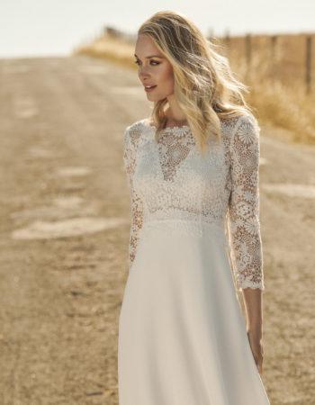Robes de mariées - Maison Lecoq - robe N°061b Isidora 1595 €