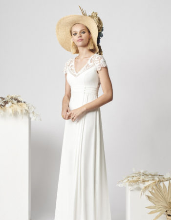 Robes de mariées - Maison Lecoq - robe N°062 Agnes 1495 €
