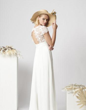 Robes de mariées - Maison Lecoq - robe N°062a Agnes 1495 €