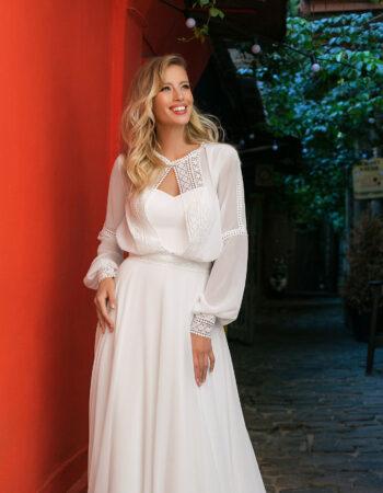 Robes de mariées - Maison Lecoq - robe N°105B 1006 595€