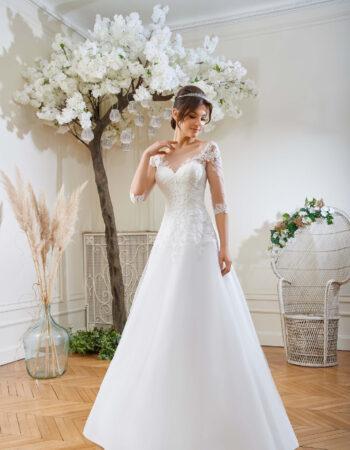 Robes de mariées - Maison Lecoq - robe N°123 214-04 895 €