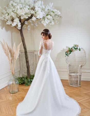 Robes de mariées - Maison Lecoq - robe N°123A 214-04 895 €