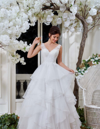 Robes de mariées - Maison Lecoq - robe N°128 214-32 895 €