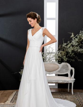 Robes de mariées - Maison Lecoq - robe N°133 VISUELLE 845 €