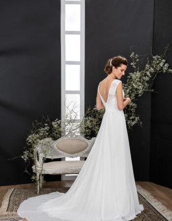 Robes de mariées - Maison Lecoq - robe N°133A VISUELLE 845 €