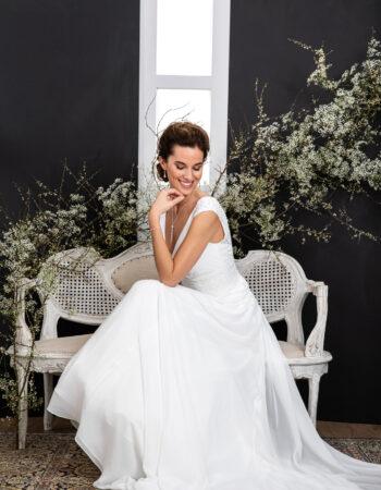 Robes de mariées - Maison Lecoq - robe N°133B VISUELLE 845 €