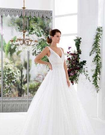 Robes de mariées - Maison Lecoq - robe N°136 VINTAGE 995 €