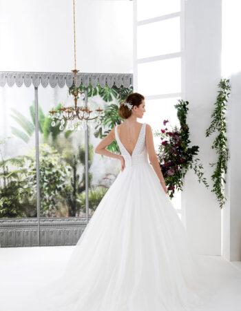 Robes de mariées - Maison Lecoq - robe N°136A VINTAGE 995 €