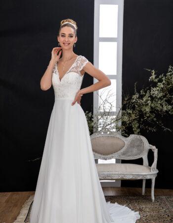 Robes de mariées - Maison Lecoq - robe N°138 VALLAURIS 745 €