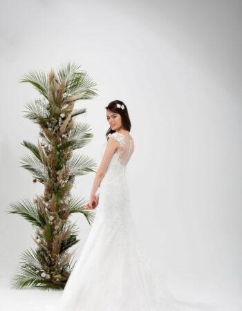 Robes de mariées - Maison Lecoq - robe N°028a SAVANNAH 1025 €