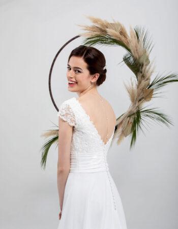 Robes de mariées - Maison Lecoq - robe N°032a SOLINE 675 €