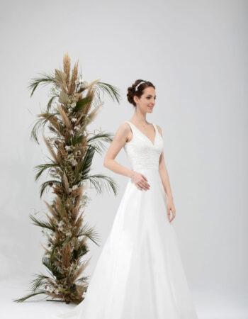 Robes de mariées - Maison Lecoq - robe N°037 SIXTINE 535 €