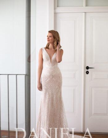 Robes de mariées - Maison Lecoq - robe N°053 Ione 1095 €