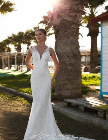 Robes de mariées - Maison Lecoq - robe N°140 Bernarda 1150 €