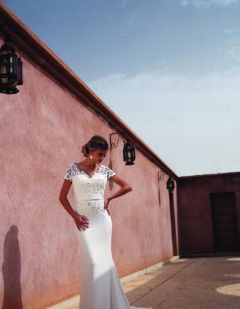 Robes de mariées - Maison Lecoq - robe N°940 190-315-01 1435 €