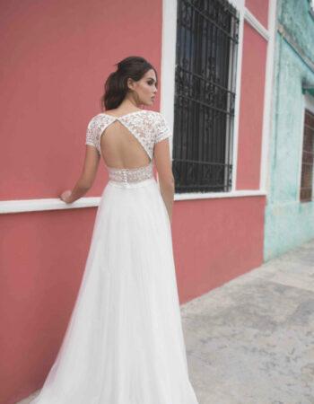 Robes de mariées - Maison Lecoq - robe n010a